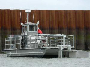 MSRC skimming vessel