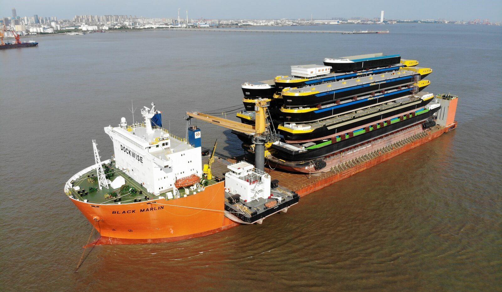 Black marlin heavy lift vessel