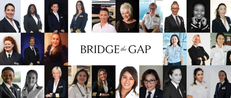 celebrity edge all-female bridge team