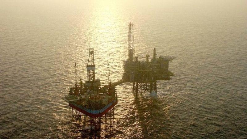 north sea drilling rigs