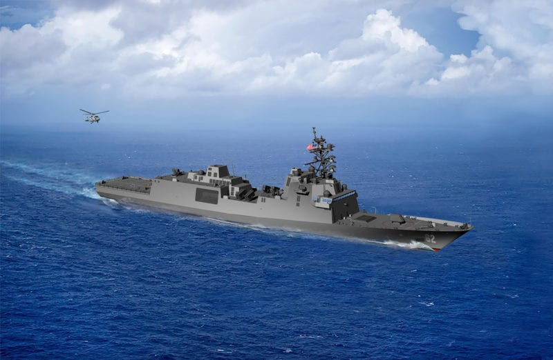 UNITED STATE Navy Awards Guided Missile Frigates Contract to Fincantieri's Marinette Marine Corporation
