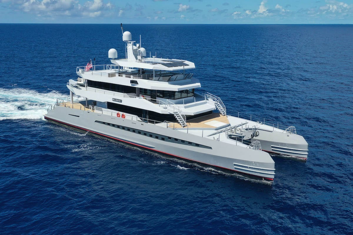 Metal Shark M48 expedition yacht