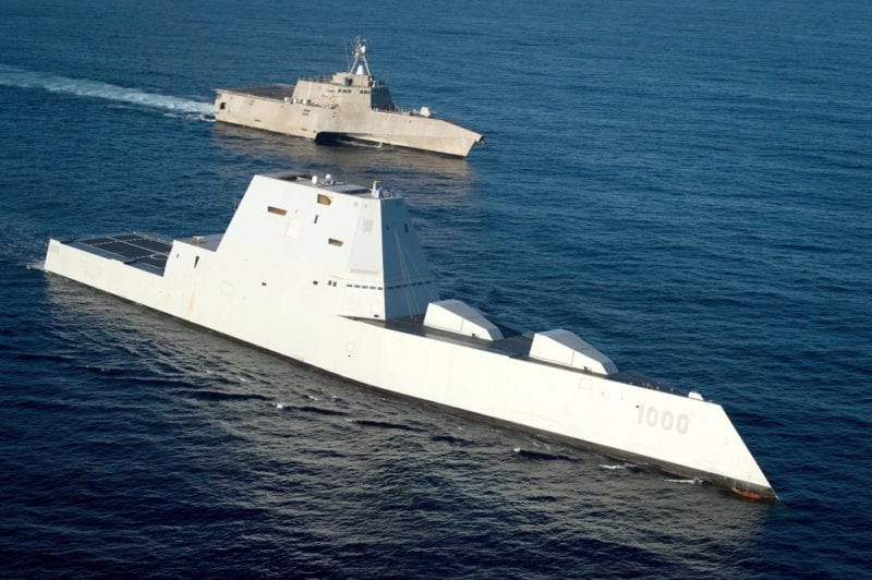 Navy Broken Fleet Zumwalt LCS