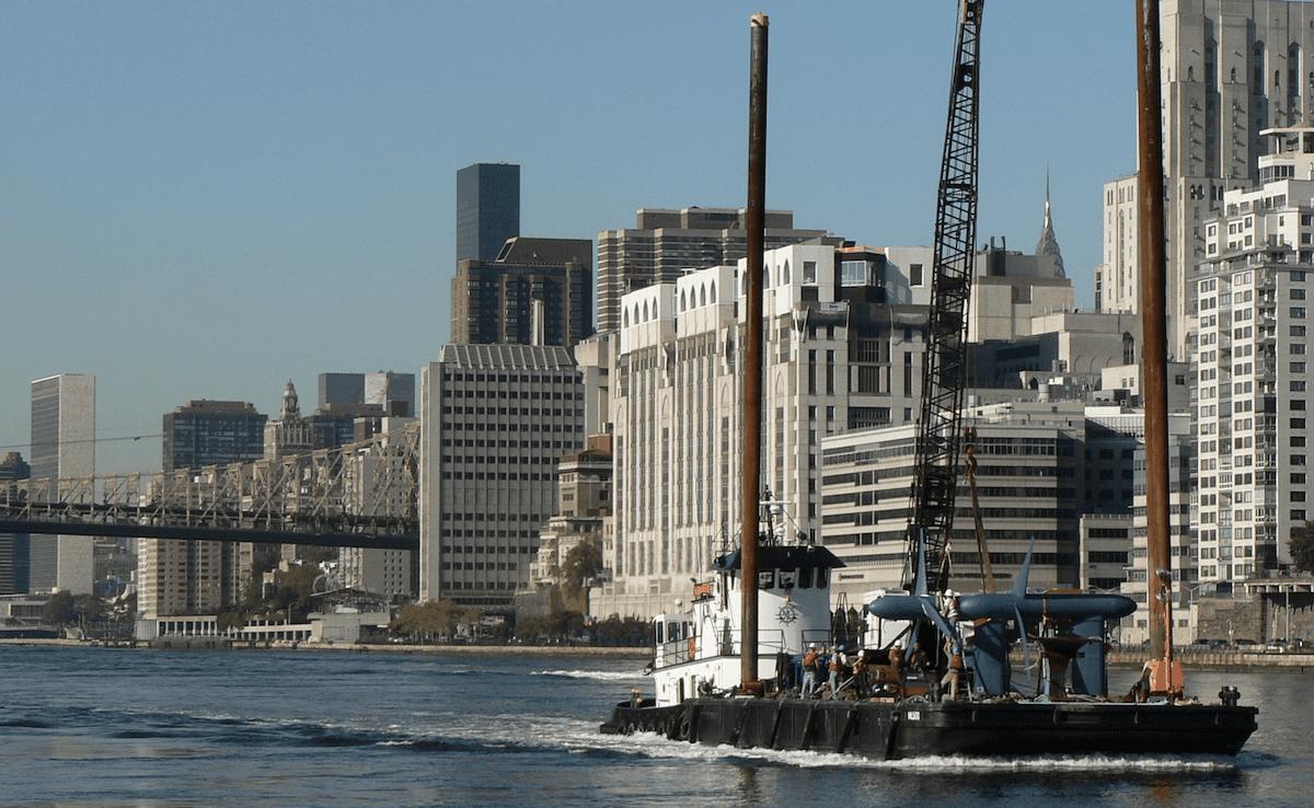 New York : installation de turbines pour exploiter l'énergie marémotrice de l'East River