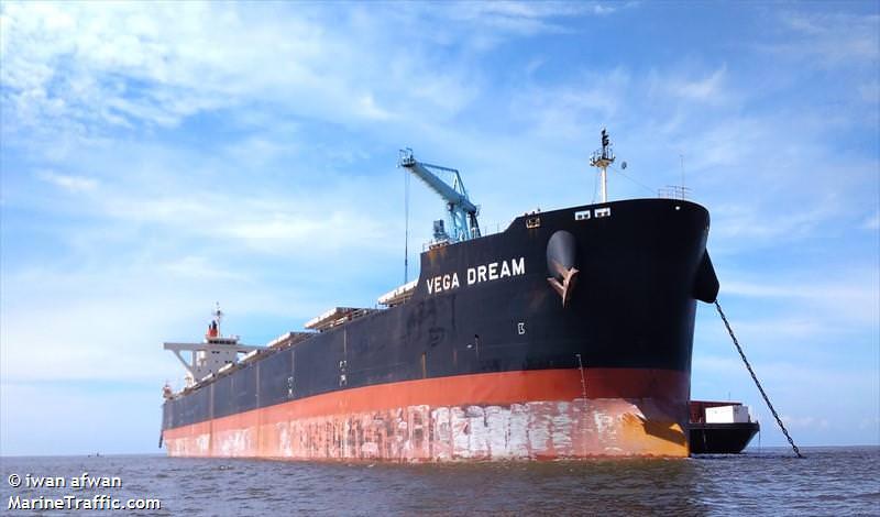 VEGA_DREAM Bulker At Anchor