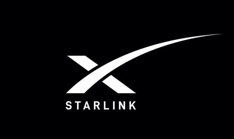 Elon Musk Starlink Internet Logo