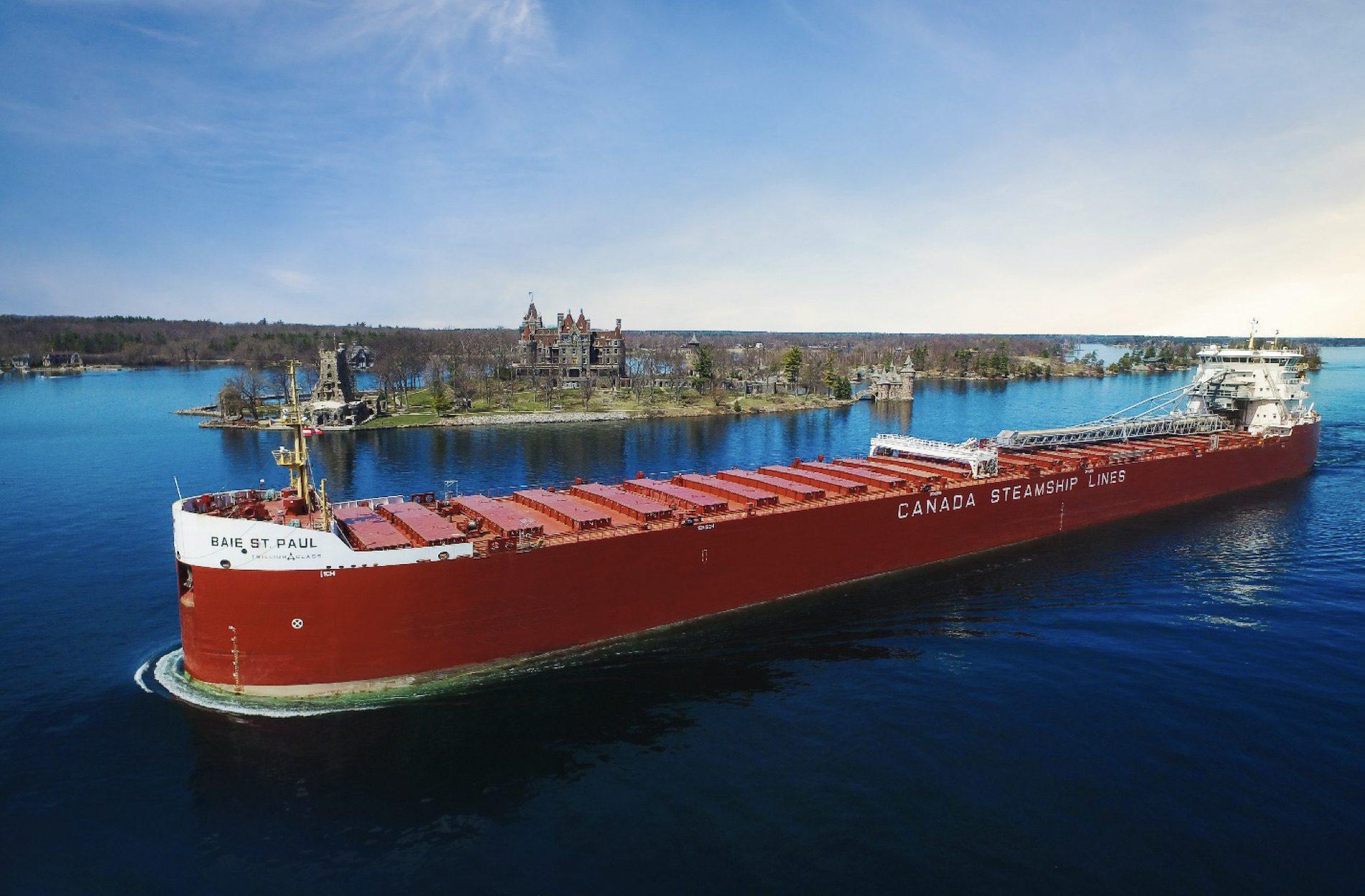 Baie St. Paul cargo ship