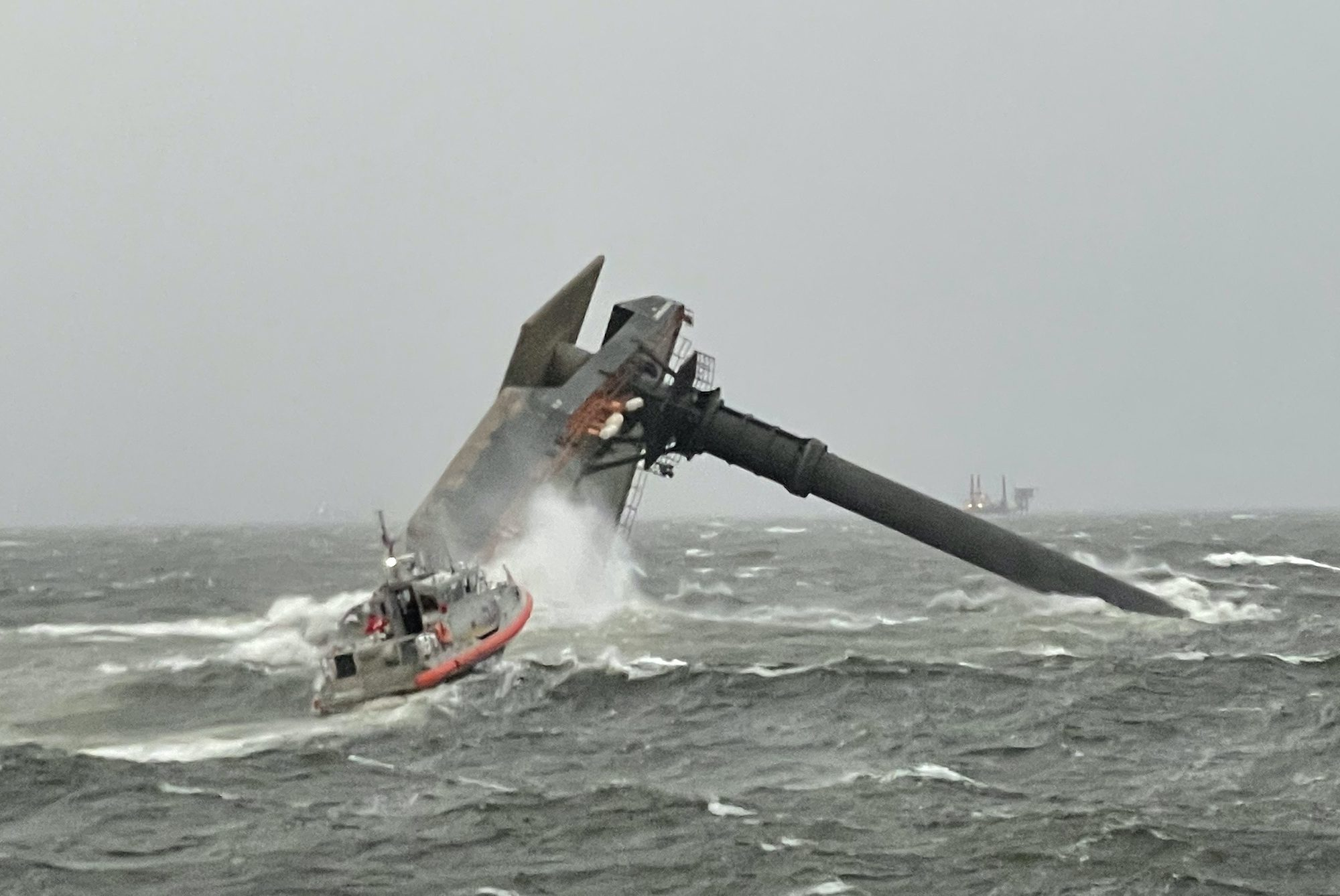 seacor power capsized