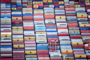 A Sea Of Shipping Containers