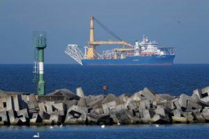 Pipe-laying vessel Akademik Cherskiy