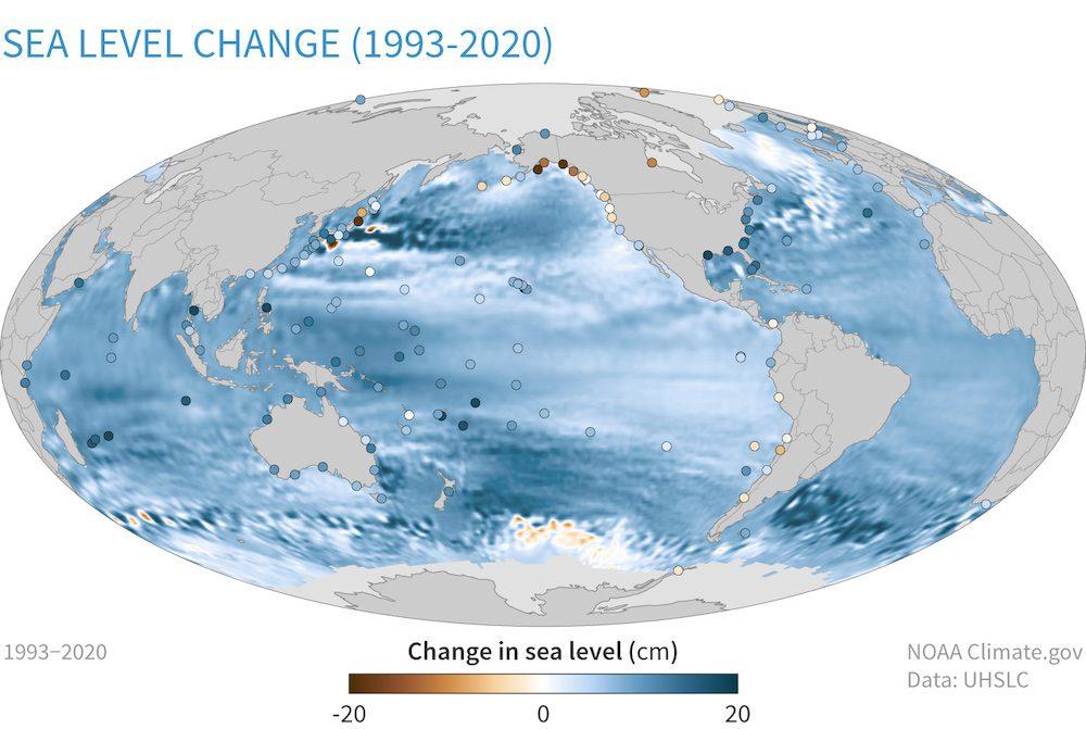 Sea Level Change (1993-2020)