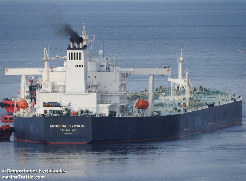 MINERVA_SYMPHONY Tanker Black Sea