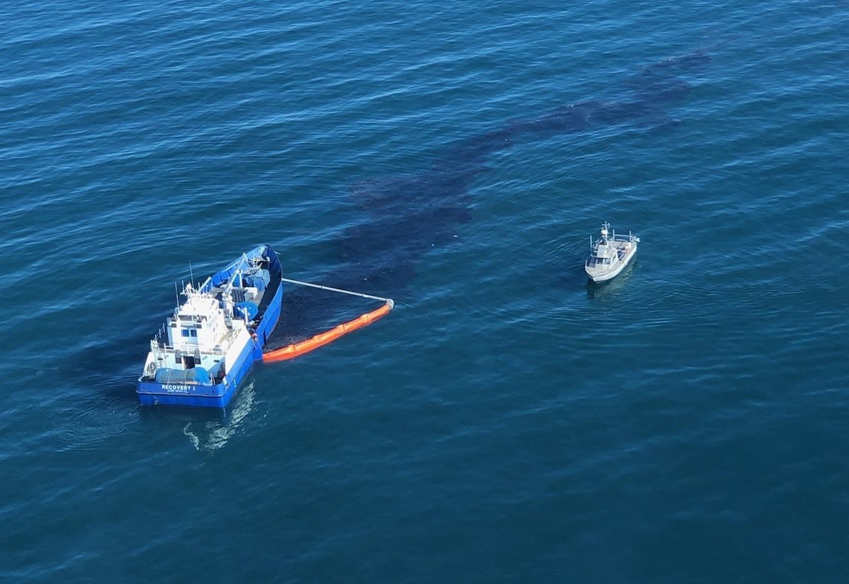 California Oil Spill Recovery Vessel